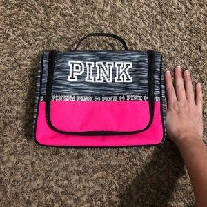 VS Pink hanging traveler case